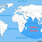 Indian Ocean Location Map At World Oceans With 2   World Wide Maps With World Ocean Map Printable