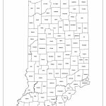 Indiana State Map Printable | Printable Maps Throughout Indiana State Map Printable