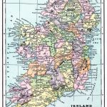 Instant Art Printable   Map Of Ireland   The Graphics Fairy Pertaining To Free Printable Map Of Ireland