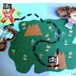 Interactive Pirate Treasure Map #summerofjoann – Juggling With Kids Within Printable Kids Pirate Treasure Map