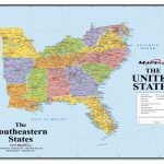 Interactive Us Map For Website States Fresh Free Printable Maps The With Regard To Printable Map Of Southeast Us