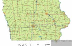 Printable Iowa Road Map