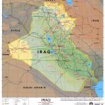 Iraq Maps   Perry Castañeda Map Collection   Ut Library Online Regarding Printable Map Of Iraq