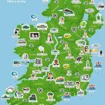 Ireland 101   Map Of Ireland. Super Simplistic But Easy To Use At A Inside Cork City Map Printable