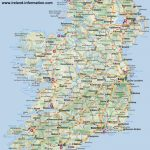 Ireland Maps Free, And Dublin, Cork, Galway In Printable Map Of Northern Ireland