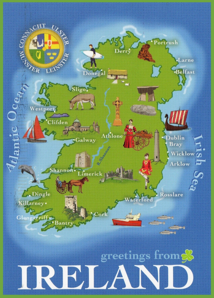 Ireland Maps | Maps Of Republic Of Ireland for Large Printable Map Of Ireland