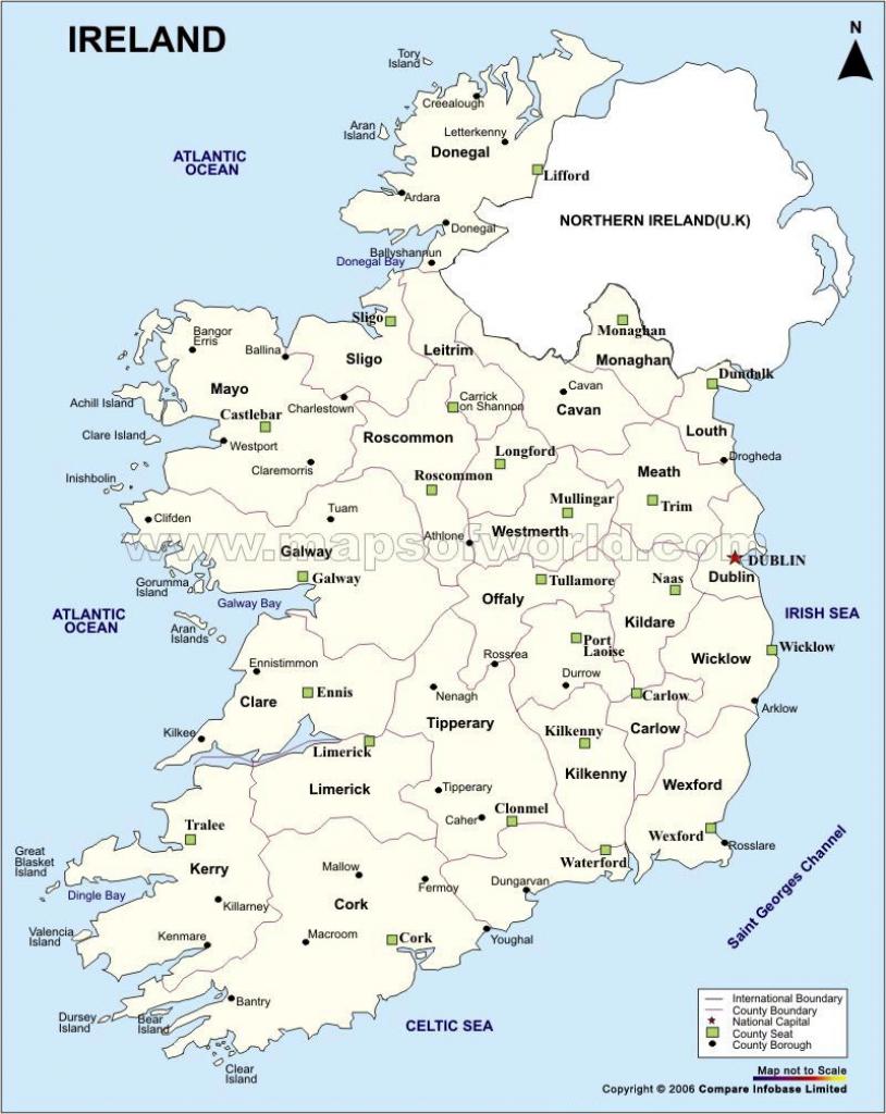 Ireland Maps   Printable Maps Of Ireland For Download for Printable Map Of Northern Ireland