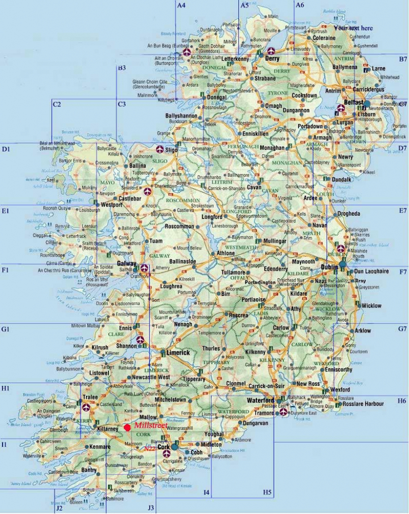 Ireland Maps | Printable Maps Of Ireland For Download for Printable Road Map Of Ireland