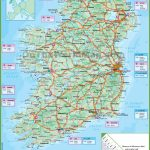 Ireland Road Map With Regard To Free Printable Map Of Ireland