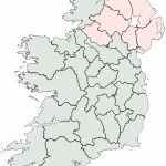 Irish Counties Blank Map – Uk Map Intended For Printable Blank Map Of Ireland