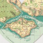 Isle Of Wight Map Heart Printbombus Off The Peg In Printable Map Of Isle Of Wight