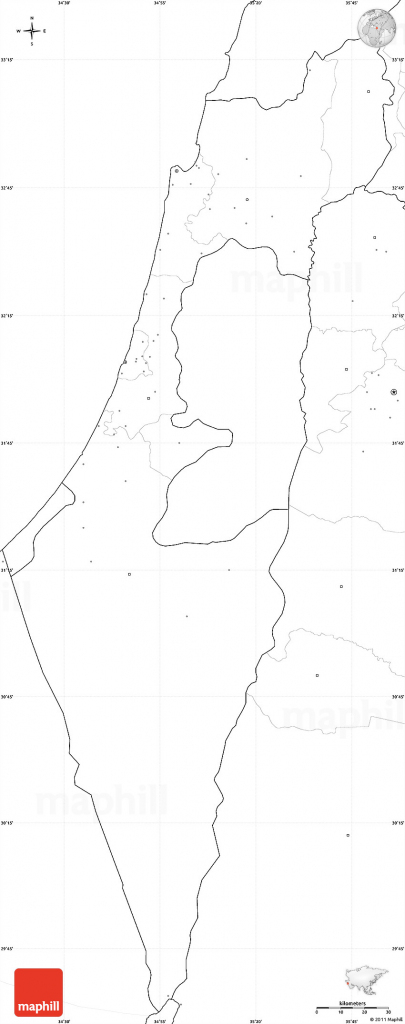 Israel Map Blank And Travel Information | Download Free Israel Map Blank with regard to Blank Map Israel Printable