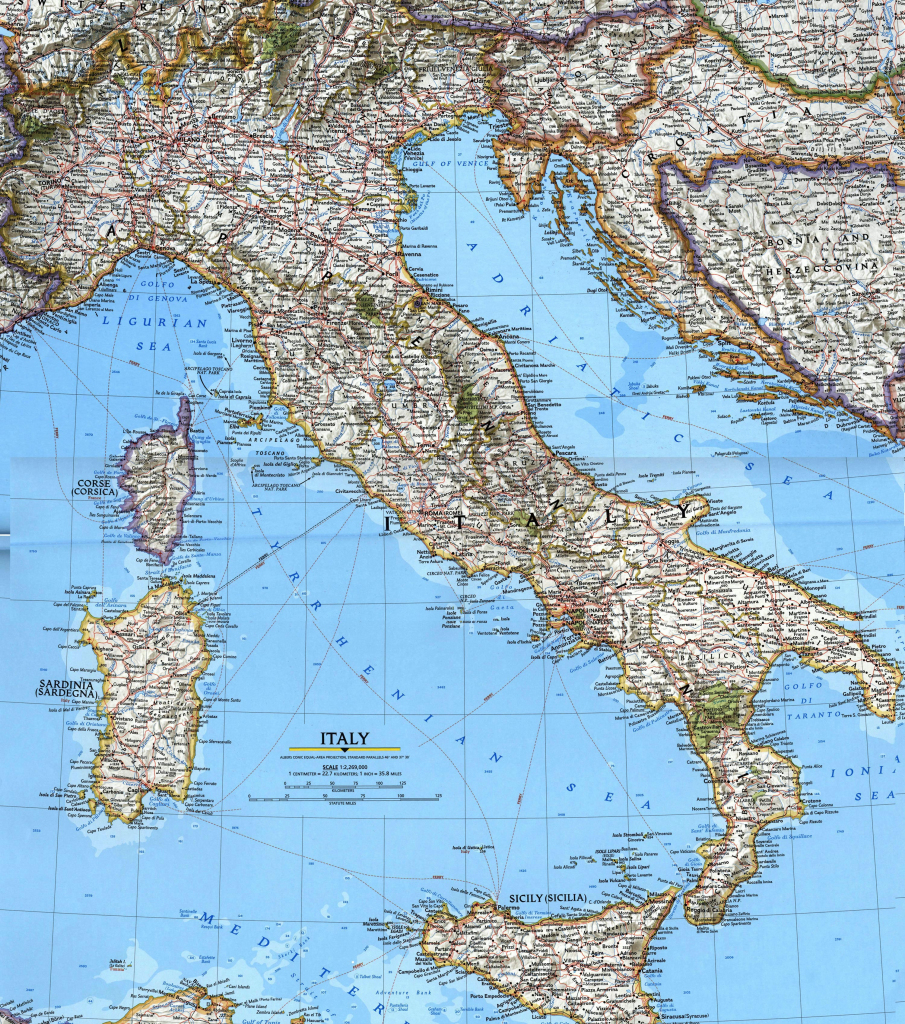 Italy Maps | Printable Maps Of Italy For Download for Large Map Of Italy Printable
