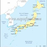 Japan Cities Map, Major Cities In Japan Intended For Printable Map Of Japan With Cities