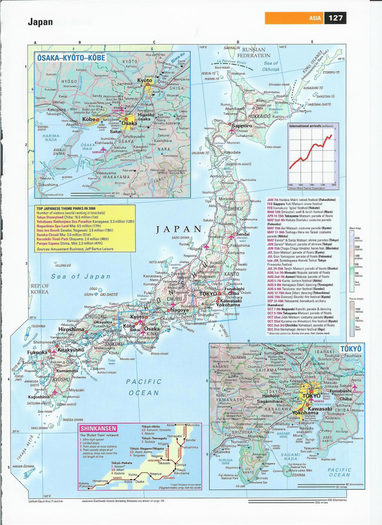 Japan Maps | Printable Maps Of Japan For Download pertaining to Printable Map Of Japan With Cities