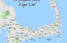 Printable Map Of Cape Cod