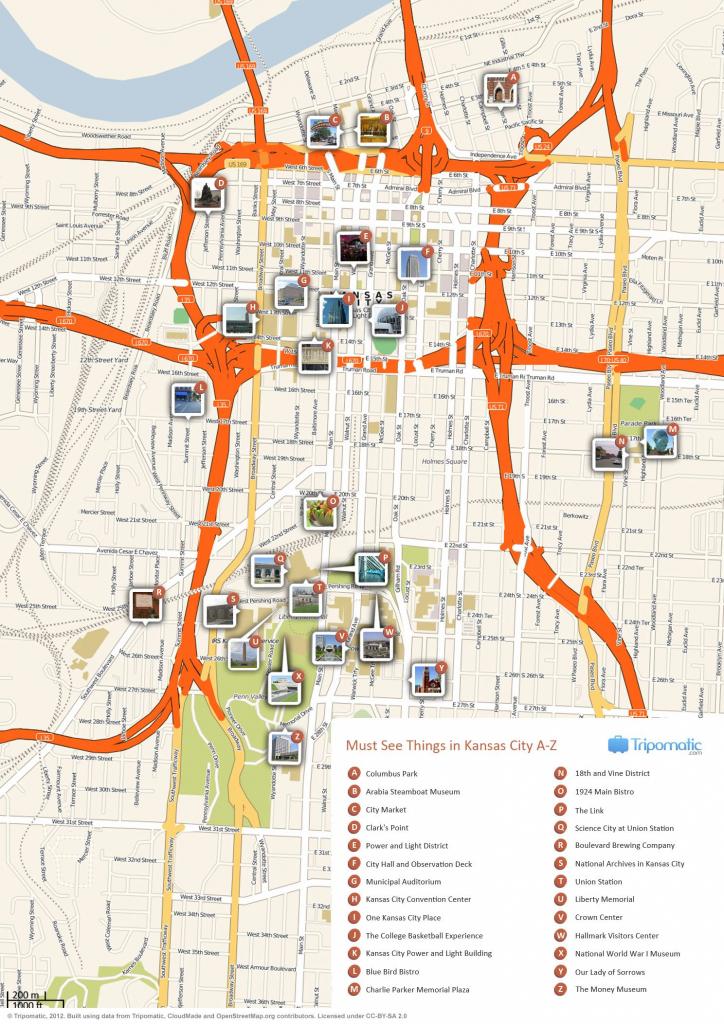 Kansas City Printable Tourist Map   Free Tourist Maps ✈   Kansas intended for Printable Kansas Map With Cities