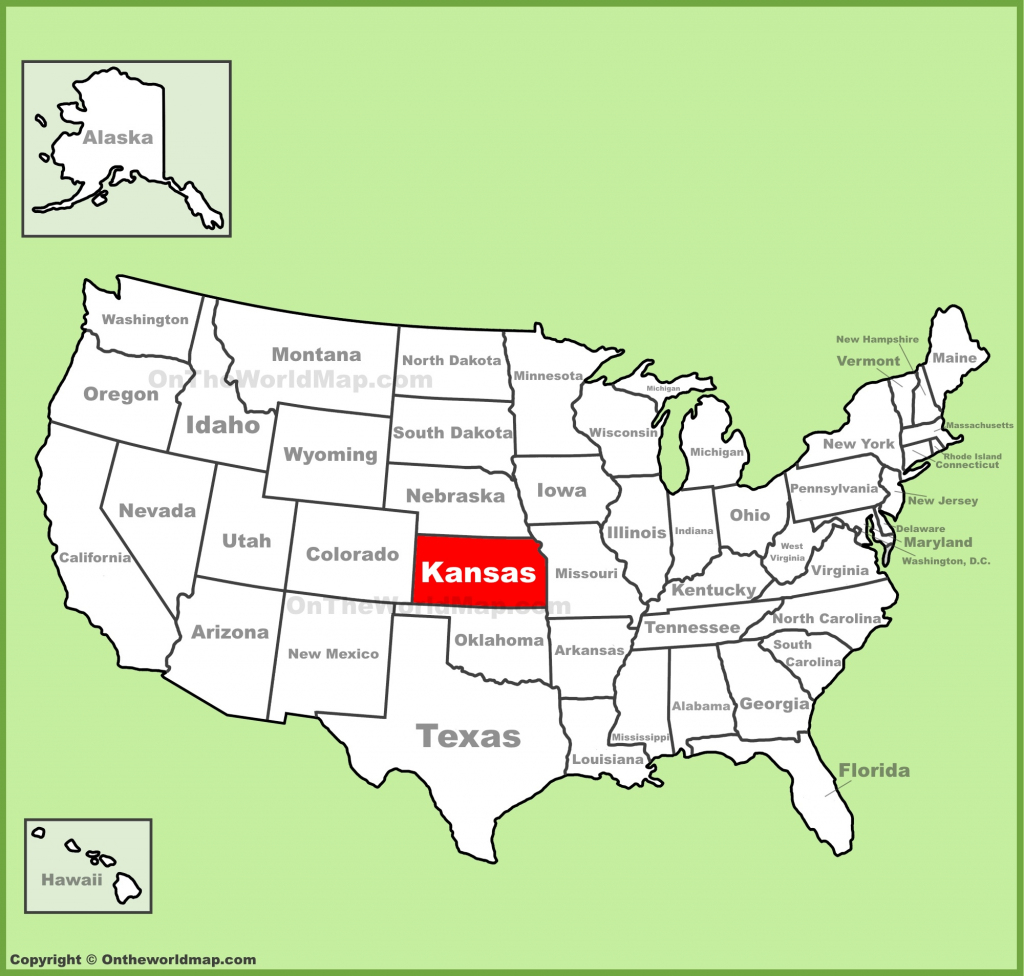 Kansas State Maps | Usa | Maps Of Kansas (Ks) for Printable Map Of Kansas