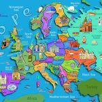 Kids Map Of Europe Maps Com In For Printable Asia 7   World Wide Maps For Map Of Europe For Kids Printable