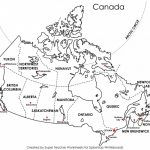 Labeled Map Of Us Printable Maps Canada All Inclusive 8 Within Printable Map Of Canada
