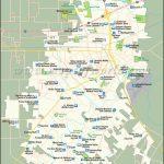 Lafayette Map  City Map Of Lafayette, Louisiana Within Printable Map Of Lafayette La