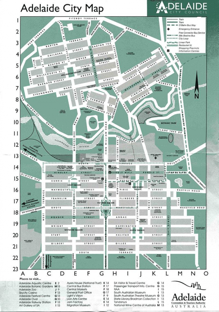 Large Adelaide Maps For Free Download And Print | High-Resolution regarding Printable Map Of Adelaide Suburbs