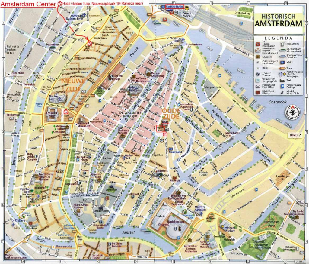 Large Amsterdam Maps For Free Download And Print | High-Resolution with regard to Printable Map Of Amsterdam