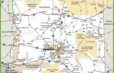 Printable Map Of Arizona
