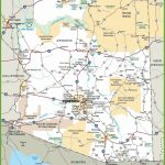 Large Arizona Maps For Free Download And Print   High Resolution And Inside Printable Map Of Tucson Az