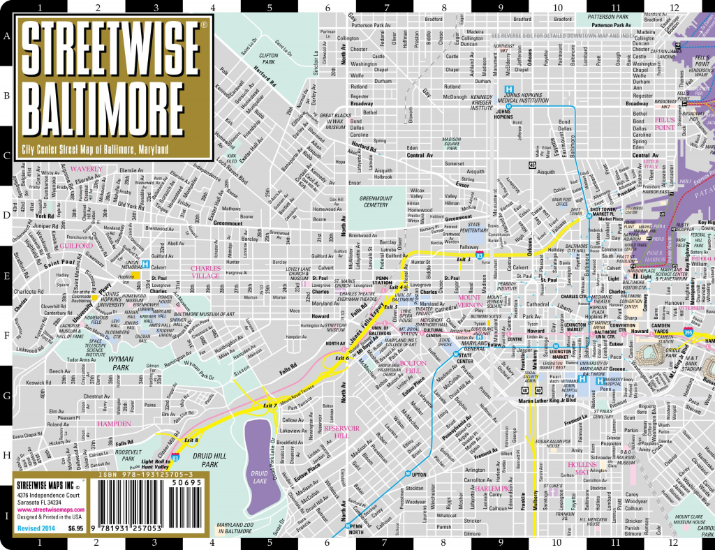 Large Baltimore Maps For Free Download And Print   High-Resolution in Printable Map Of Baltimore