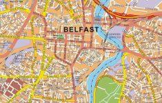 Belfast City Centre Map Printable