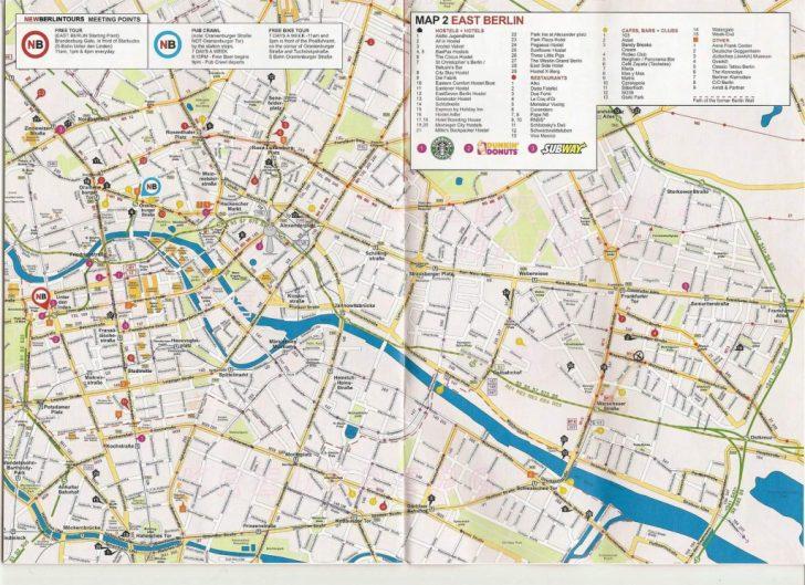 Berlin Tourist Map Printable