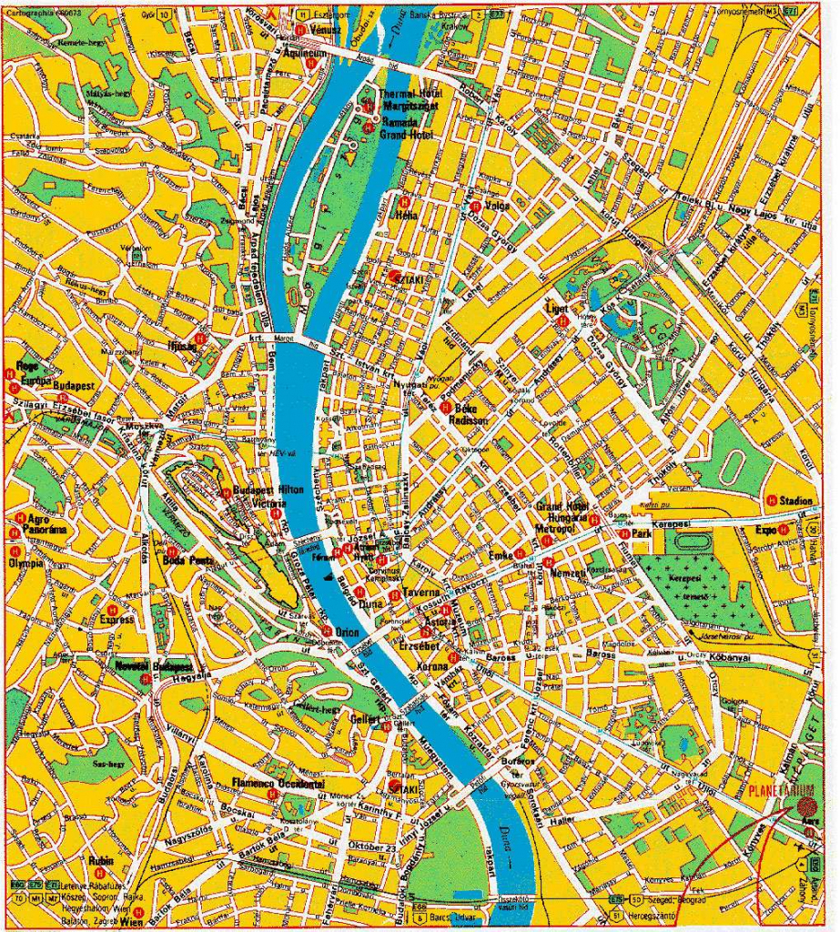 Large Budapest Maps For Free Download And Print | High-Resolution regarding Budapest Street Map Printable
