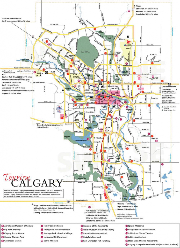 Large Calgary Maps For Free Download And Print | High-Resolution And within Printable Map Of Calgary