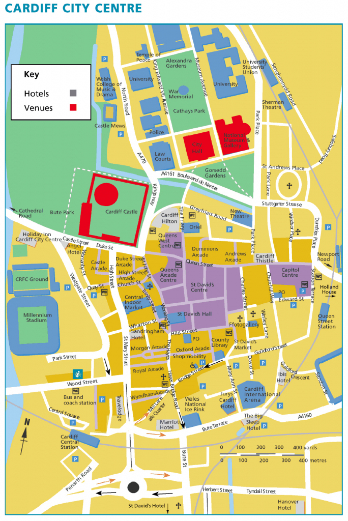 Large Cardiff Maps For Free Download And Print | High-Resolution And for Printable Map Of Cardiff