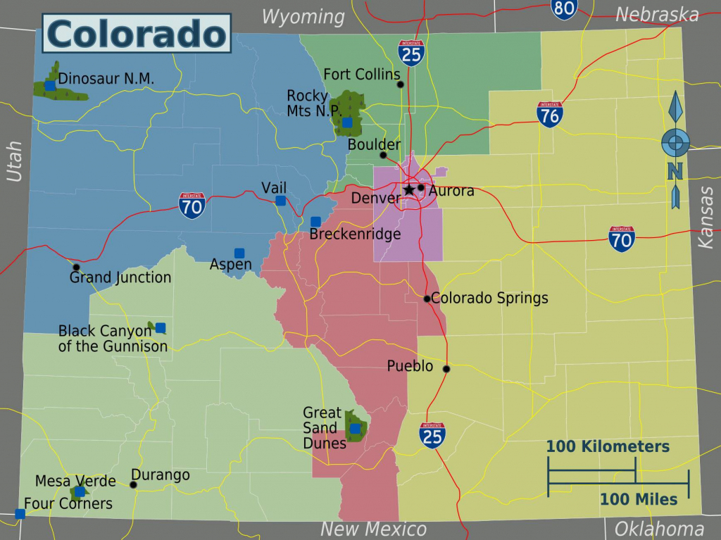 Large Colorado Maps For Free Download And Print | High-Resolution inside Printable Map Of Colorado Springs