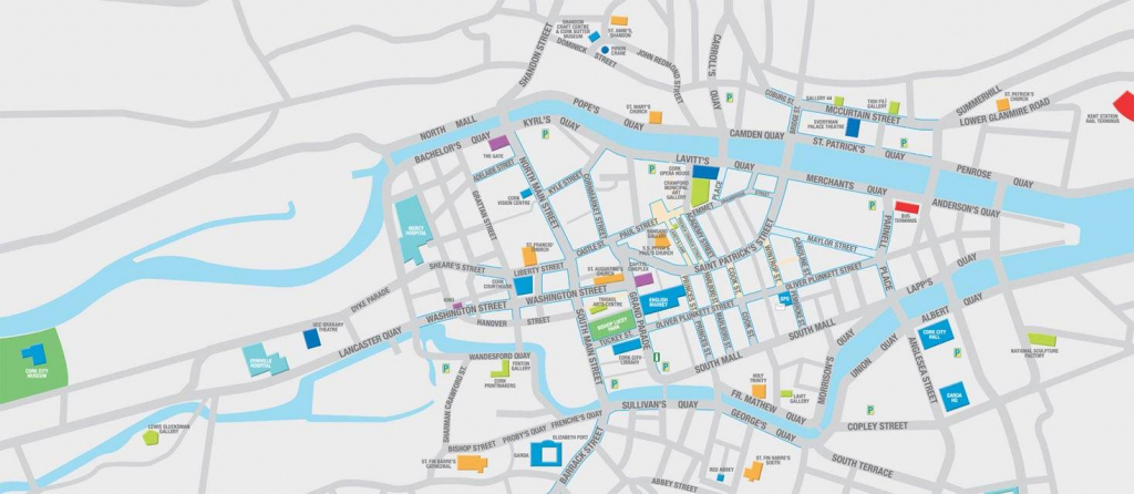 Large Cork Maps For Free Download | High-Resolution And Detailed in Cork City Map Printable