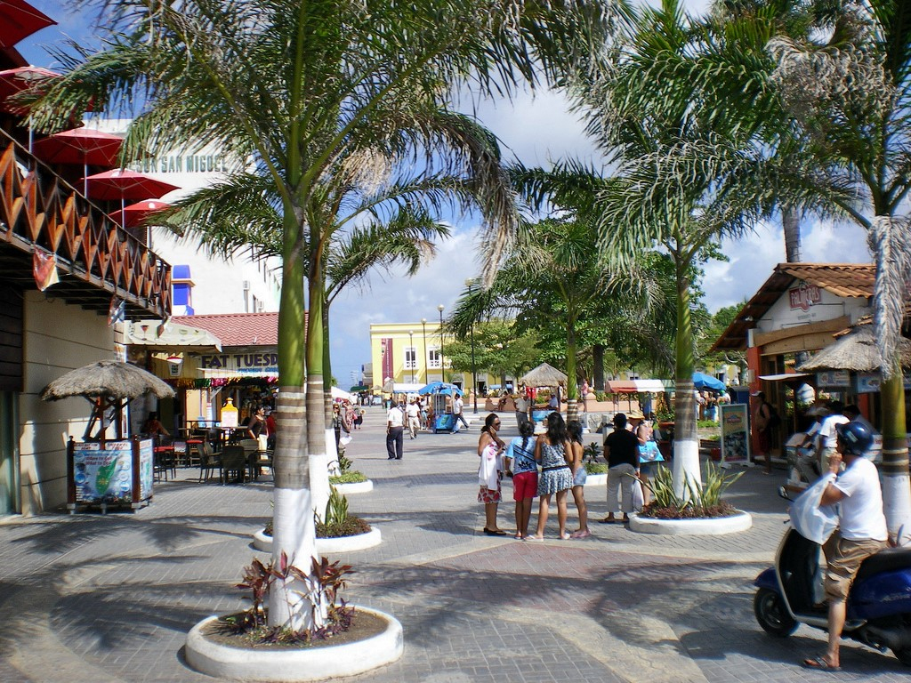 Large Cozumel Maps For Free Download And Print | High-Resolution And pertaining to Printable Street Map Of Cozumel