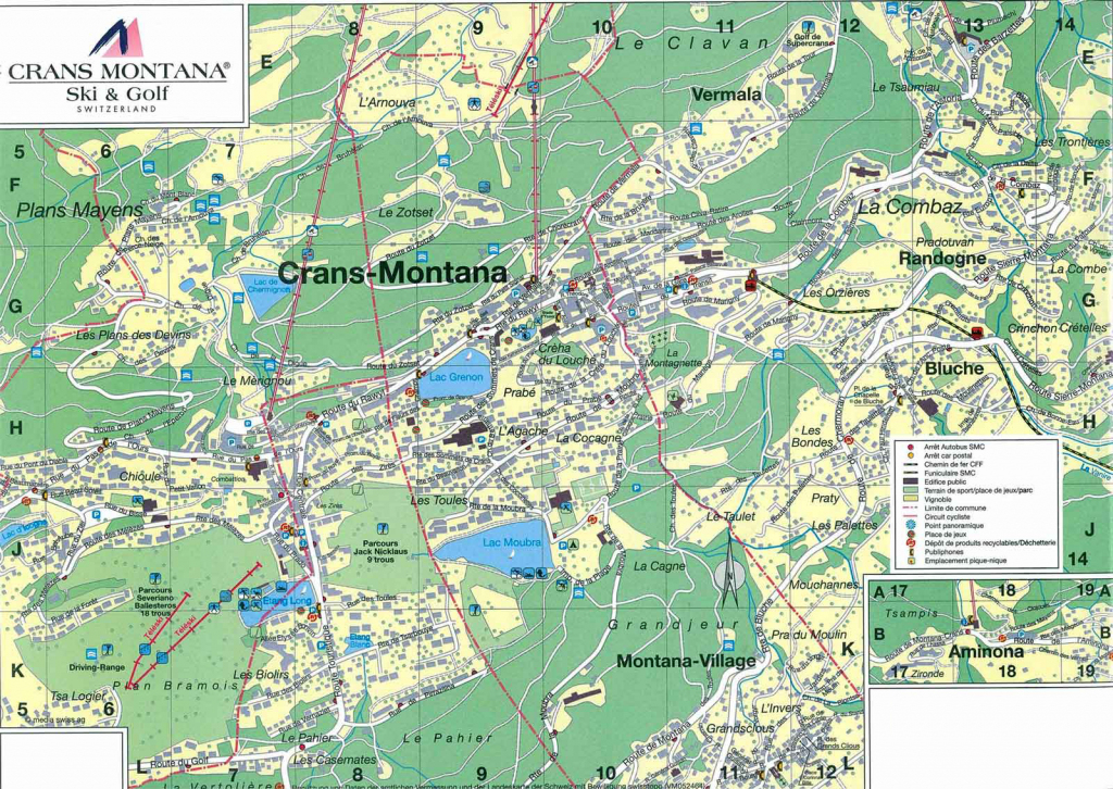 Large Crans-Montana Maps For Free Download And Print | High throughout Printable Map Of Montana