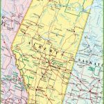 Large Detailed Map Of Alberta With Cities And Towns For Printable Alberta Road Map