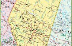 Printable Alberta Road Map
