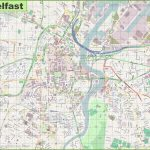 Large Detailed Map Of Belfast Regarding Belfast City Map Printable