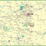 Large Detailed Map Of Colorado With Cities And Roads Within Printable Map Of Colorado