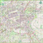 Large Detailed Map Of Edinburgh Inside Printable Map Of Edinburgh