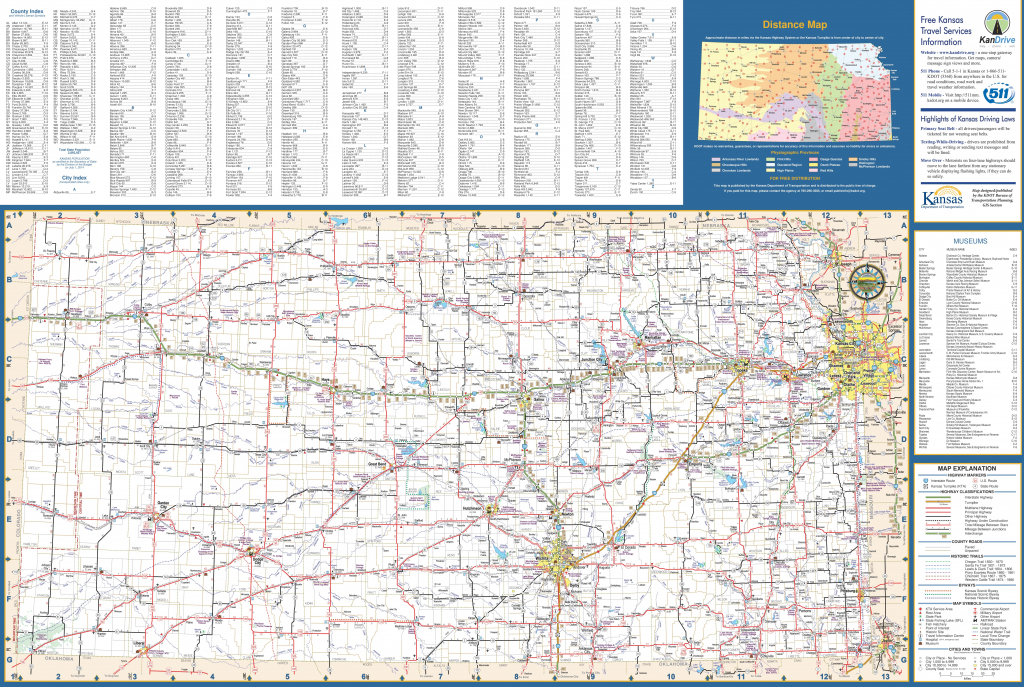 Large Detailed Map Of Kansas With Cities And Towns within Printable Kansas Map With Cities