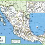 Large Detailed Map Of Mexico With Cities And Towns Regarding Free Printable Map Of Mexico