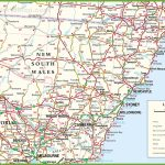 Large Detailed Map Of New South Wales With Cities And Towns With Printable Map Of Newcastle Nsw