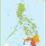 Large Detailed Map Of Philippines With Regard To Printable Quezon Province Map
