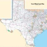 Large Detailed Map Of Texas With Cities And Towns Intended For Free Printable Map Of Texas