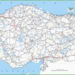 Large Detailed Map Of Turkey With Cities And Towns For Printable Map Of Turkey